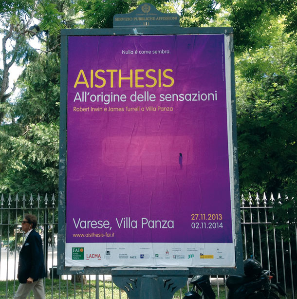 FAI - Fondo Ambiente Italiano, AISTHESIS - The origin of sensations. Exhibition
