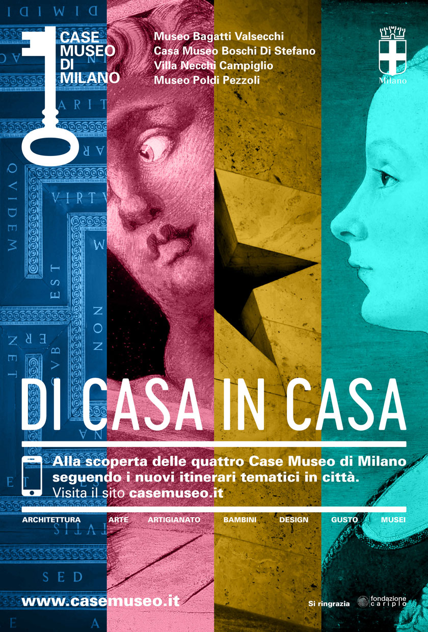 Case Museo di Milano, Di Casa in Casa - From house to house - Esplore the heart of the city