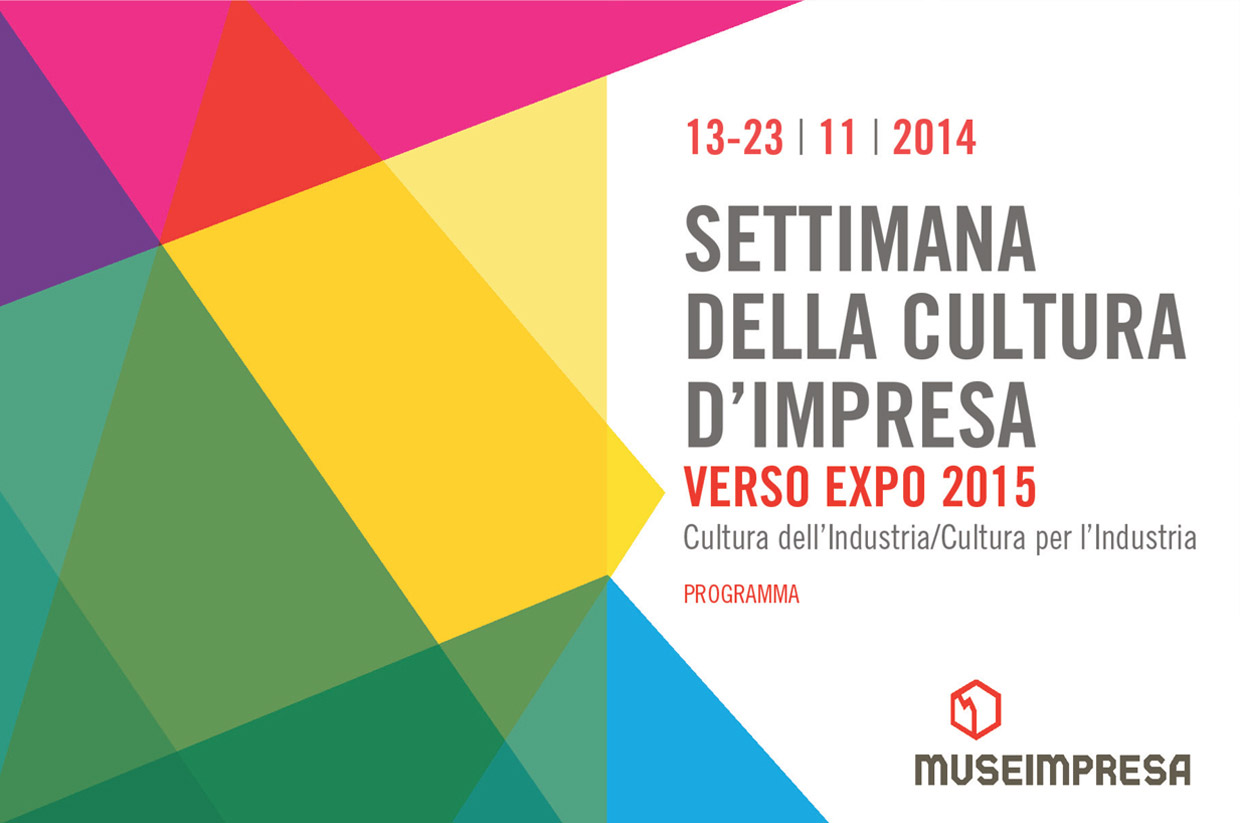 Museimpresa, Italian Association of Company Archives and Museums, 2014