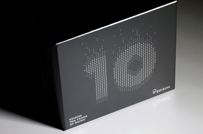 Edison, Music packaging